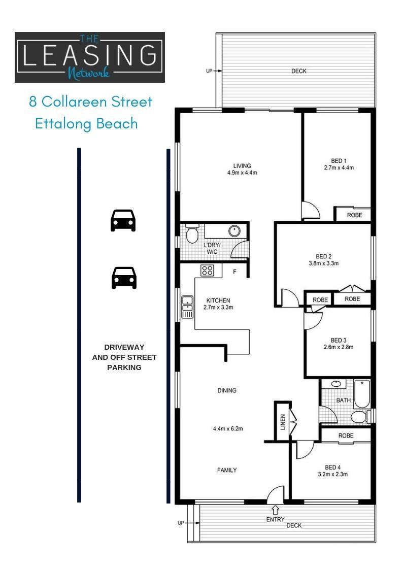 8 Collareen Street, Ettalong Beach  nsw  2257-2